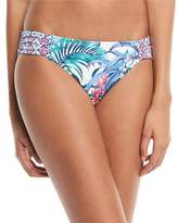 Tommy Bahama Marjorelle Side-Shirred Hipster Swim Bottoms
