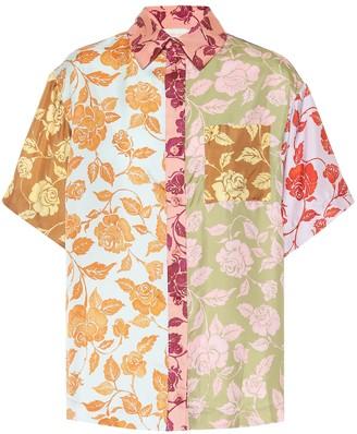 Zimmermann Lovestruck floral silk shirt