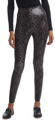Commando Python-Print Leggings