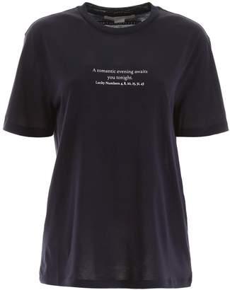 Stella McCartney Lucky Numbers Print T-Shirt