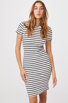 Cotton On Essential Short Sleeve Midi Dress