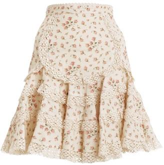 Zimmermann Freja Trim Flutter Skirt