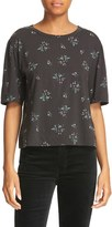 Rebecca Taylor Women's Antique Floral Jersey Top