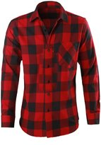 Pipi Generic Men's Buffalo Plaid Flannel Shirt [Apparel]
