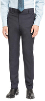 Jaeger Super 100s Wool Mouline Slim Fit Suit Trousers, Navy