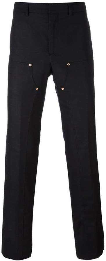 Givenchy front panel trousers