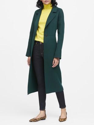 Banana Republic Unlined Double-Faced Maxi Coat