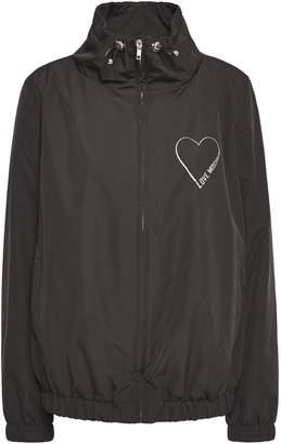 Love Moschino Glittered Shell Jacket