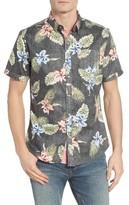 7 Diamonds Men's Haven Breeze Print Woven Shirt