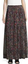 IRO Women's Gisele Printed Maxi Skirt