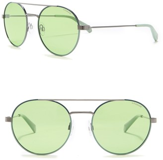 Polaroid Round 55mm Sunglasses