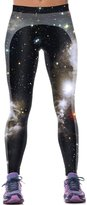 RAISEVERN Girls 3d Animal Printed Graphic Hipster Exercise Leggings Tights