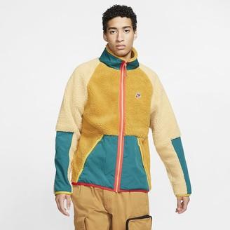 Nike Men's Sherpa Fleece Jacket Sportswear