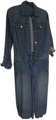 Michael Kors Blue Denim - Jeans Jumpsuits