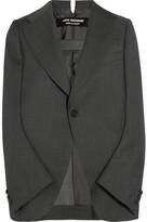 Junya Watanabe Blazer-style Wool Cape - Dark gray