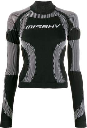 Misbhv logo fitted performance top