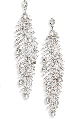 CRISTABELLE Crystal Trend Drop Earrings
