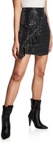 IRO Lilie Sequined Short Skirt