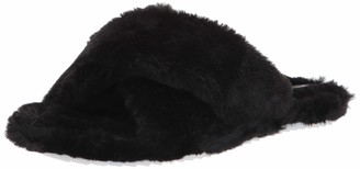 Vince Camuto Women's KORTENDIE Faux Fur Slipper