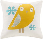 INK + IVY INK+IVY Kids Agatha Square Embroidered Decorative Pillow