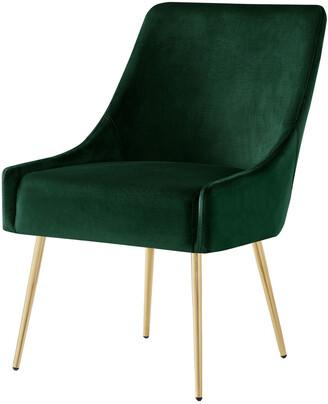 INSPIRED HOME Set Of 2 Mazolini Velvet Dining Chair