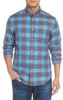 Vineyard Vines Men's Tucker Belmont Classic Fit Plaid Sport Shirt