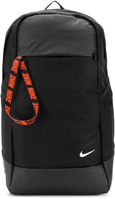 Nike contrasting logo print backpack