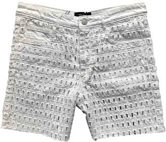 Isabel Marant White Cotton Shorts for Women