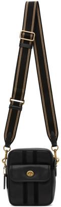 Coach 1941 Black Leather Dylan 15 Messenger Bag