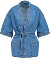 MiH Jeans Finn belted denim jacket