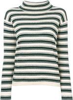 Bellerose striped roll neck jumper