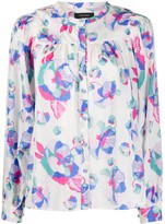 Isabel Marant Ritonea floral-print blouse