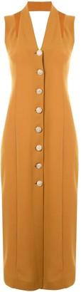 0711 Button-Down Dress