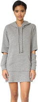 LnA Hoodie Sweatshirt Dress