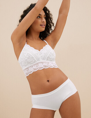 Marks and Spencer Louisa Lace Longline Bralette
