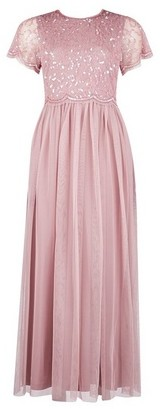 Dorothy Perkins Womens **Showcase Petite Pink 'Tina' Maxi Dress, Pink
