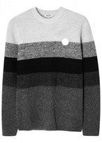 Kenzo Striped Wool Blend Jumper