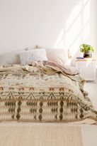 Urban Outfitters Brushed Geo Camp Bed Blanket