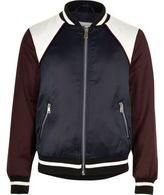River Island Girls red sporty bomber