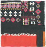 Etro multiple prints scarf - women - Cashmere/Modal - One Size