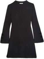See by Chloe Wool Mini Dress - Midnight blue