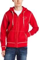 True Religion Men's Big T Stitch Hoodie Sweatshirt
