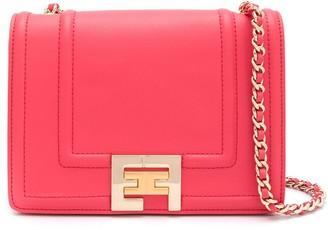 Elisabetta Franchi Logo Plaque Shoulder Bag