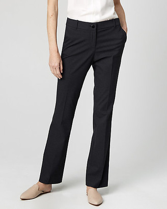 Le Château Viscose Blend Slight Flare Leg Trouser