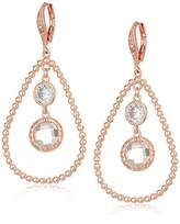 Anne Klein Orbital Leverback Drop Earrings