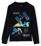 Lands' End Toddler Boys Novelty Graphic Tee-Space Station