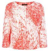 Les Copains Blossom Print Crop Jacket
