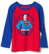 Gap Junk Food superhero baseball tee