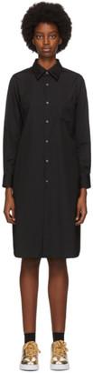 Comme des Garcons Black Shirt Dress
