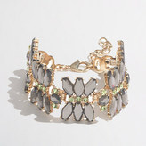 J.Crew Factory Factory jeweled dragonfly bracelet